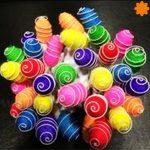 Guirnalda de luz de capullitos multicolor con interruptor