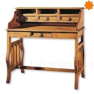 Mueble escritorio clásico de madera Estilo Vintage