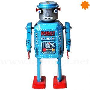 Robot Mecánico R-35 con mecanismo de manivela
