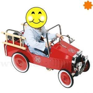 coche de pedales camión de Bombero