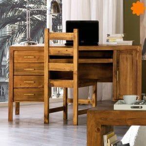 escritorio completo con armario y cajones