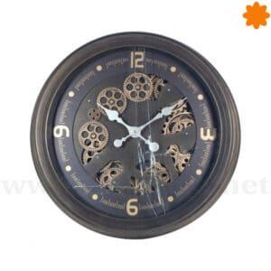 Reloj de estilo industrial para colgar en la pared