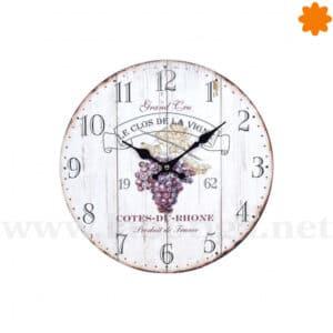 Reloj para colgar en la pared los de la Vigne