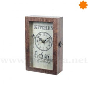 Guarda llaves reloj para colgar en la pared - Kitchen