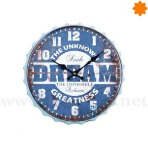 Reloj para colgar en la pared - Dream the impossible & seek the unknown